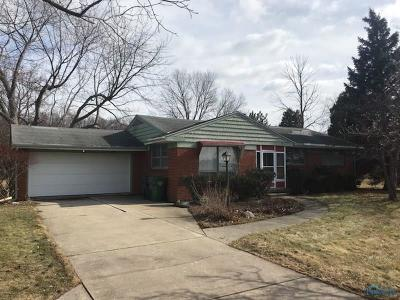 Maumee Single Family Home For Sale: 4909 Jerome Road