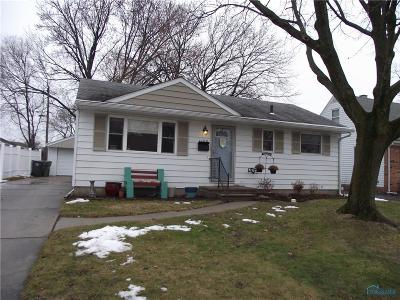 Maumee Single Family Home For Sale: 1108 Richland Street