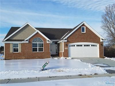 Perrysburg Condo/Townhouse For Sale: 15306 Sunset Maple Drive #Lot 8