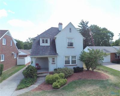 Toledo Single Family Home For Sale: 3807 Beverly Drive