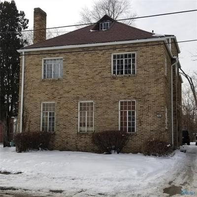 Toledo OH Multi Family Home For Sale: $62,500