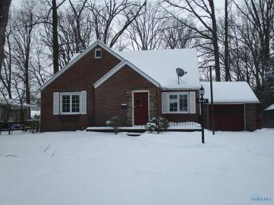 Toledo OH Single Family Home For Sale: $73,000