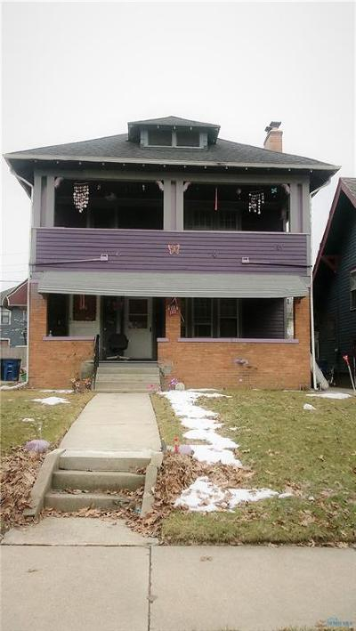 Toledo OH Multi Family Home For Sale: $49,000