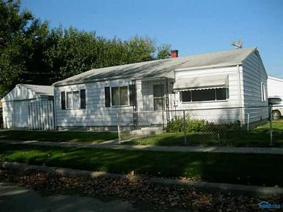 Toledo OH Single Family Home For Sale: $39,000