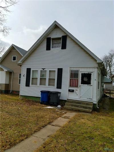 Toledo OH Single Family Home For Sale: $37,000