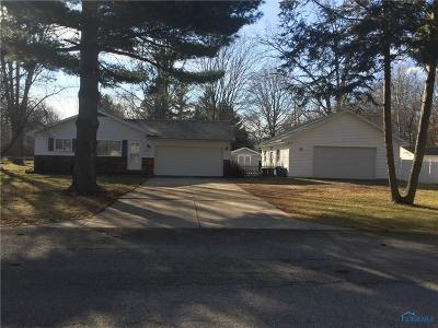 Sylvania OH Single Family Home For Sale: $139,000