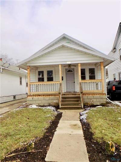 Toledo OH Single Family Home For Sale: $6,500