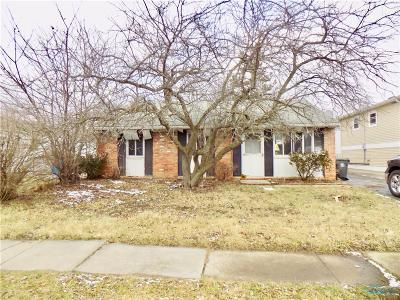 Toledo OH Single Family Home For Sale: $19,900