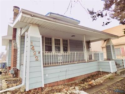 Toledo OH Single Family Home For Sale: $10,500