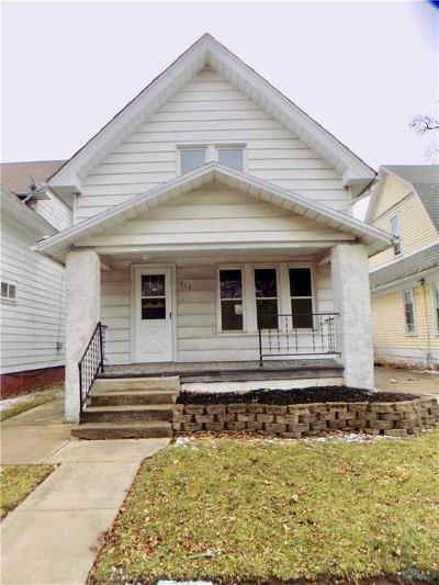 Toledo OH Single Family Home For Sale: $4,900