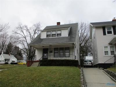 Toledo OH Single Family Home For Sale: $28,900