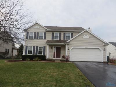 Perrysburg Single Family Home Contingent: 10310 White Oak Drive