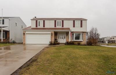 Rossford Single Family Home Contingent: 913 Carol Circle