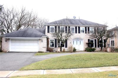 Maumee Single Family Home For Sale: 6125 Henthorne
