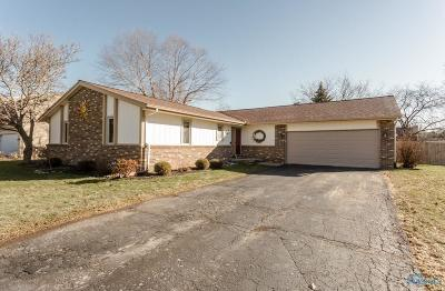 Maumee Single Family Home Contingent: 2403 Garden Creek Drive