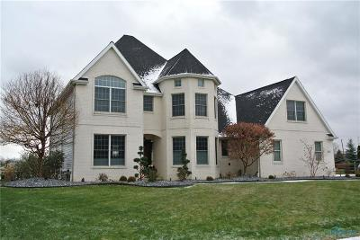 Perrysburg Single Family Home Contingent: 3688 River Ridge Way