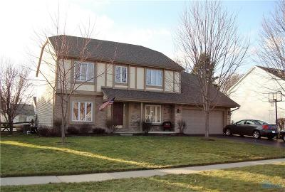 Maumee Single Family Home Contingent: 2240 Heatherview Drive