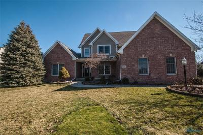 Monclova Single Family Home Contingent: 5825 Red Leaf Lane