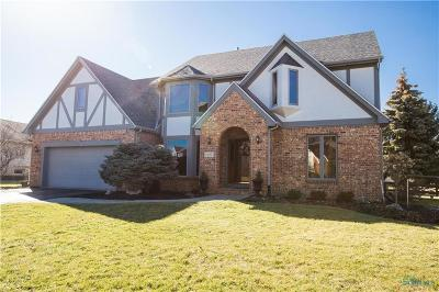 Perrysburg Single Family Home Contingent: 13763 Otusso Drive