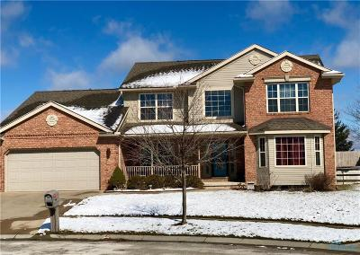 Maumee Single Family Home For Sale: 2276 Maple Tree Drive