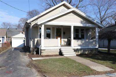 Perrysburg Single Family Home Contingent: 105 Civic Drive