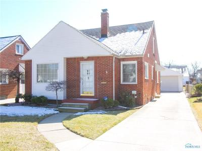 Toledo Single Family Home For Sale: 2547 Castleton Avenue