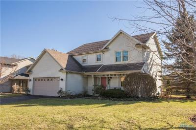 Perrysburg Single Family Home Contingent: 1244 Sutton Place