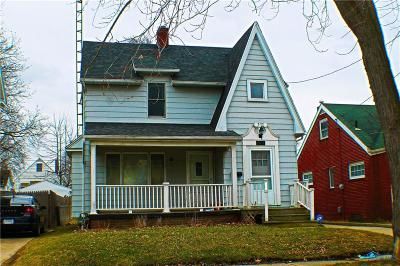 Toledo OH Single Family Home For Sale: $39,900