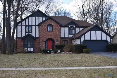 Toledo Single Family Home Contingent: 7149 Cloister Road