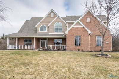 Perrysburg Single Family Home For Sale: 1103 Brookwoode Road