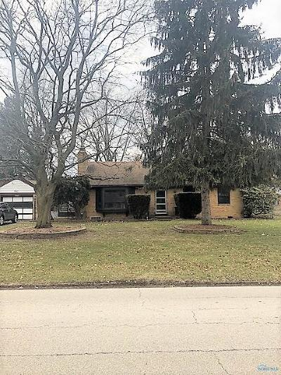 Toledo Single Family Home For Sale: 2945 Evergreen Road