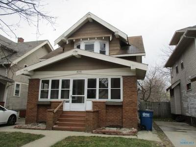 Toledo Single Family Home For Sale: 4119 Thornton Avenue
