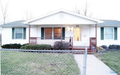 Toledo Single Family Home For Sale: 916 Utah Street