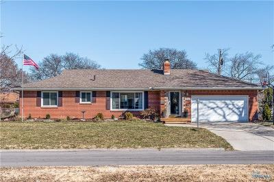 Toledo Single Family Home For Sale: 3516 Muirfield Avenue