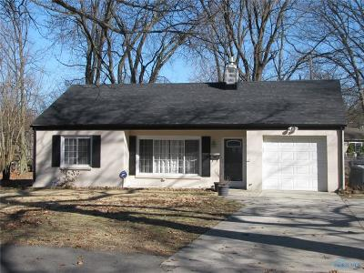 Toledo Single Family Home For Sale: 1864 Atwood Road
