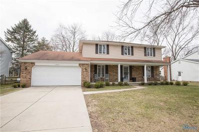 Perrysburg Single Family Home For Sale: 903 Shearwood Drive