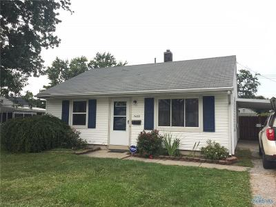 Toledo OH Single Family Home For Sale: $53,900