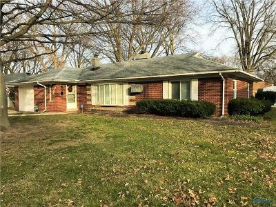 Toledo Single Family Home For Sale: 3429 Radisson Avenue