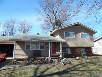 Toledo OH Single Family Home For Sale: $135,000