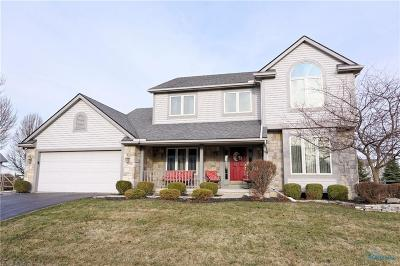 Perrysburg Single Family Home Contingent: 25350 Fox Hunt Drive