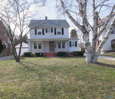 Toledo OH Single Family Home For Sale: $144,000