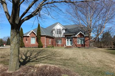 Perrysburg Single Family Home For Sale: 26380 Seminary Road