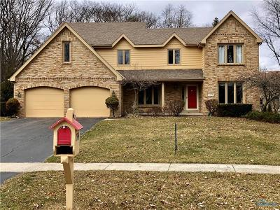 Toledo Single Family Home For Sale: 7344 Gibley Park Road