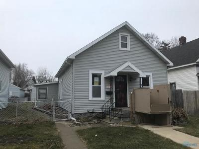 Toledo OH Single Family Home For Sale: $16,300