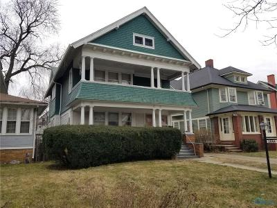 Toledo OH Multi Family Home For Sale: $41,500