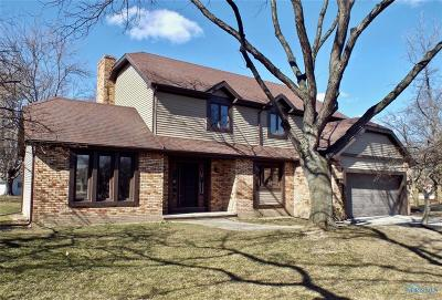 Perrysburg Single Family Home For Sale: 701 Briarwood Circle
