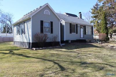Toledo OH Single Family Home For Sale: $82,900