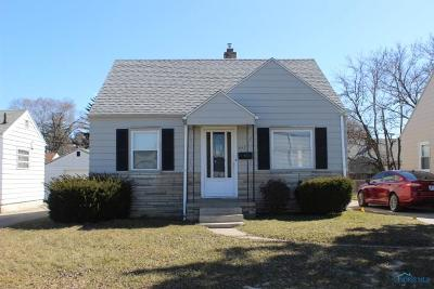 Toledo OH Single Family Home For Sale: $49,000