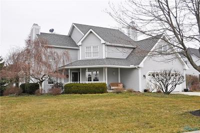 Perrysburg Single Family Home Contingent: 13636 Otusso Drive