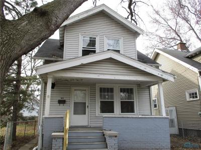 Toledo OH Single Family Home For Sale: $9,500